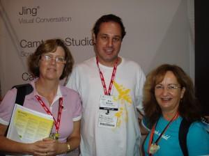 Jen, Eric, Lois at NECC09