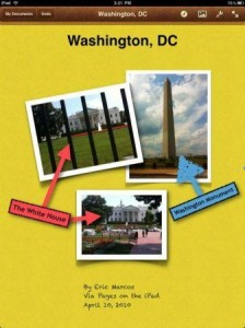 pages creation on ipad